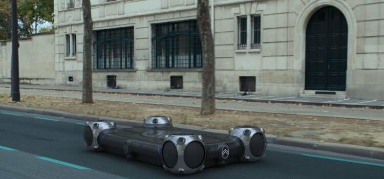 A montadora Citroen apresenta um novo conceito