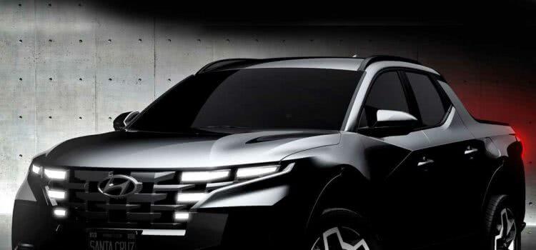 A Hyundai Santa Cruz PCD 2022